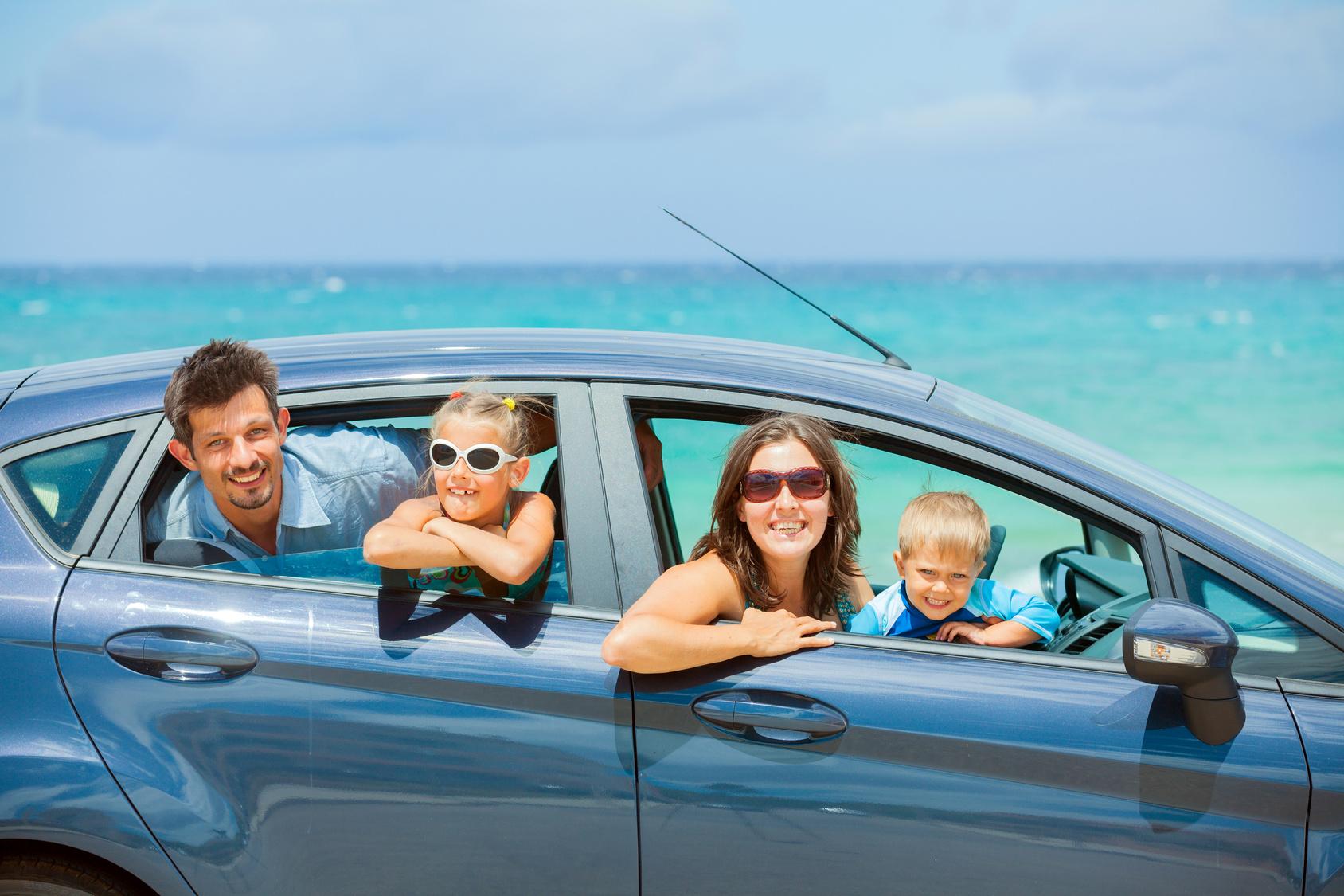 Location de voiture familiale pour les vacances