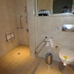 Toilettes adaptées