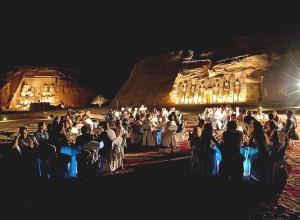 Egypte - Dîner de gaga - privatisation du site d'Abou Simbel Cézame