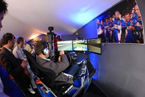 simulateur de pilotage de F1