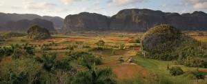 La vallée de Vinales à Cuba