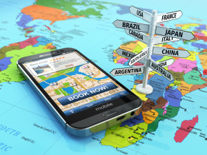 Tourisme sur le mobile