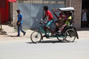 transport local à Madagascar