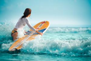 Jeune surfeur de 11 ans – © artproba – Fotolia.com