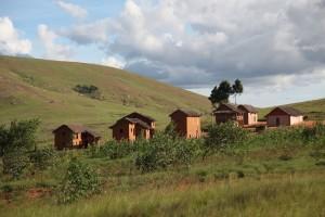 maison paysage Madagascar