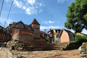 place vielle ville Ranohira Madagascar