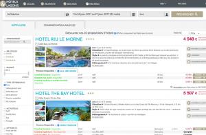 outil btob tourisme hôtels et lagons