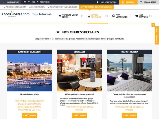 gestion automatisée des réservations d'hôtels avec AccorHotels