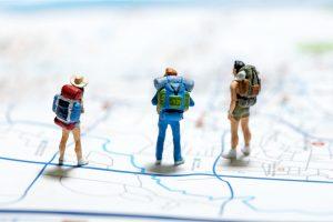 Concept de tourisme et de voyage