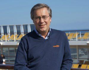 Patrick Pourbaix Directeur Général France et Belux de MSC Croisières