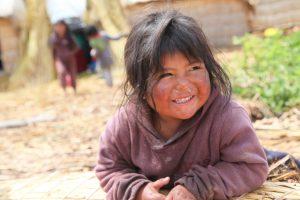 Enfant péruvienne