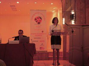 Alix Philippon, présidente de l'APST