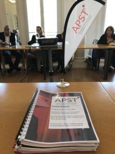 Actions et résultats 2018 de l'APST
