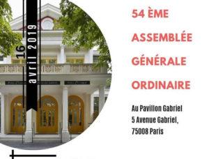 54e assemblée générale ordinaire APST