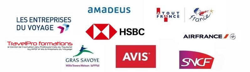 logos des partenaires APST
