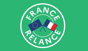 logo France relance fond vert